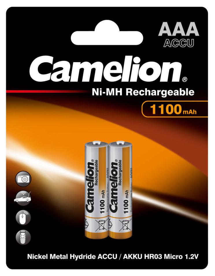 Батарейки Camelion Ni-MH Rechargeable ААА 2шт