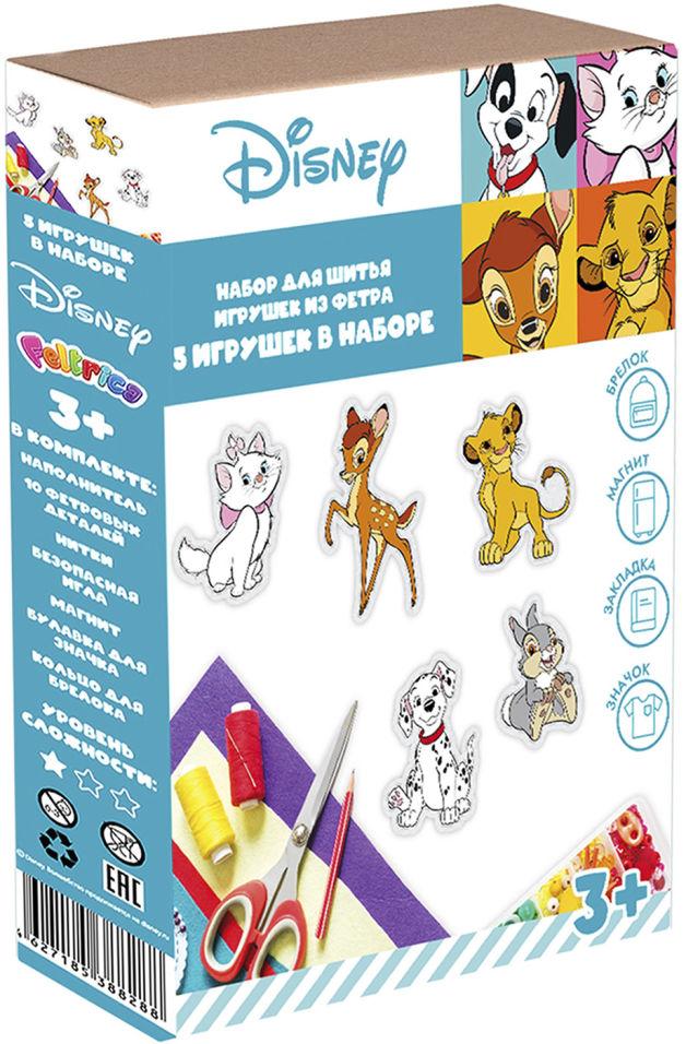 Набор для шитья мини-игрушек Disney Животные