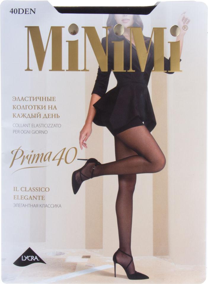 Колготки Minimi Prima 40 Nero Черные Размер 5