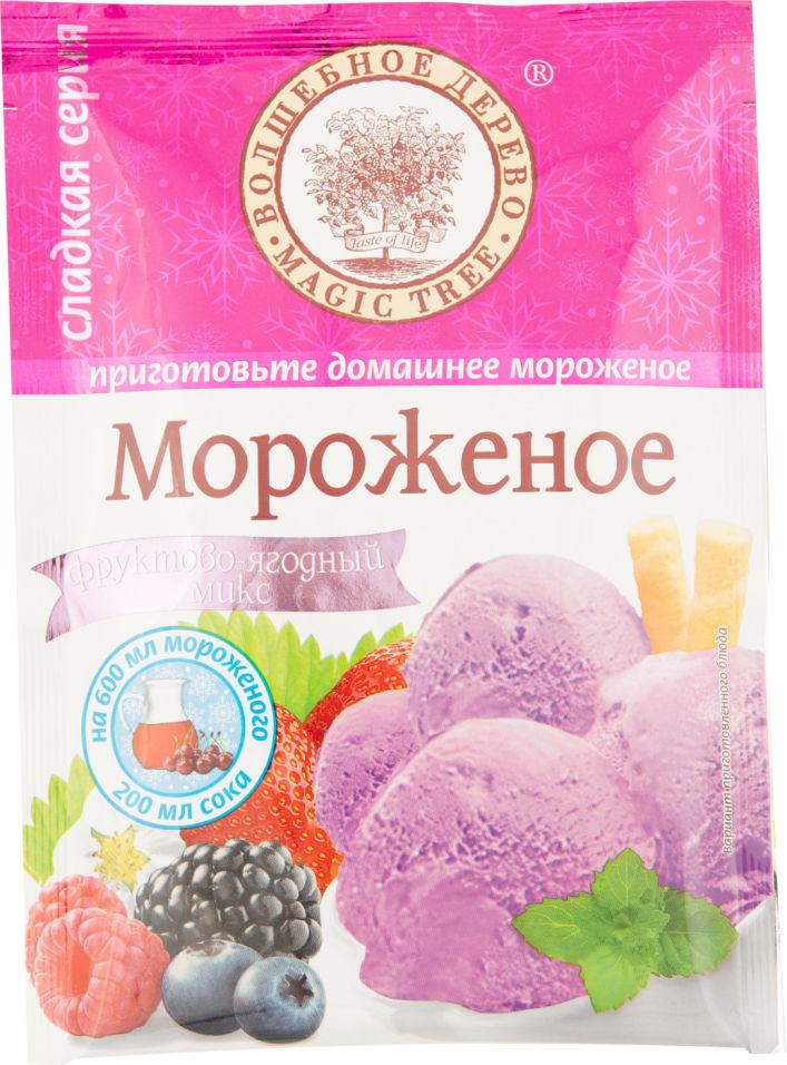 Сухая смесь Волшебное дерево Мороженое Фруктово-ягодный микс 75г