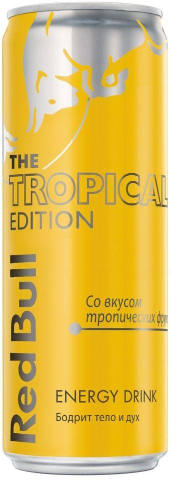 Напиток Red Bull The Tropical Edition энергетический 355мл