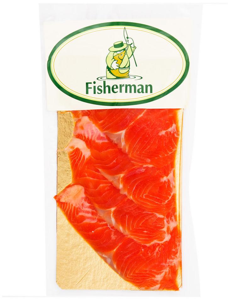 Форель Fisherman холодного копчения ломтики 150г