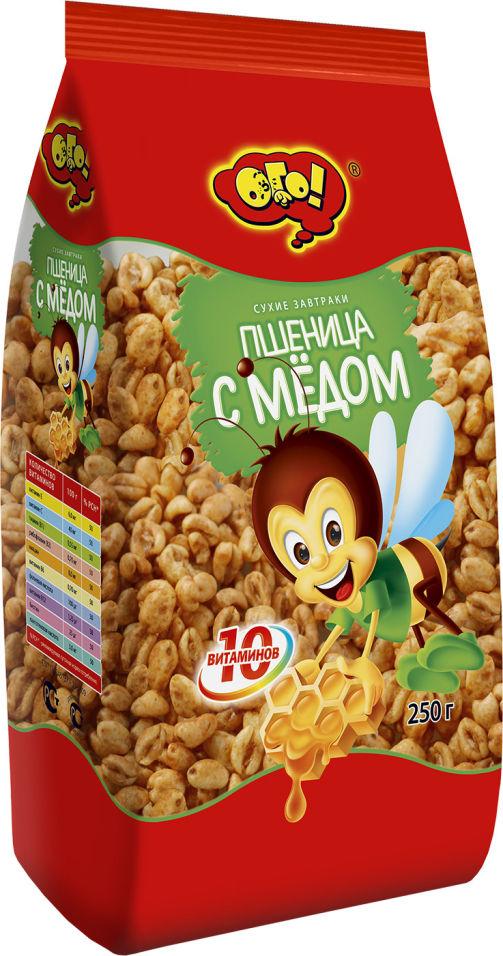 Сухой завтрак Ого Пшеница с медом 250г