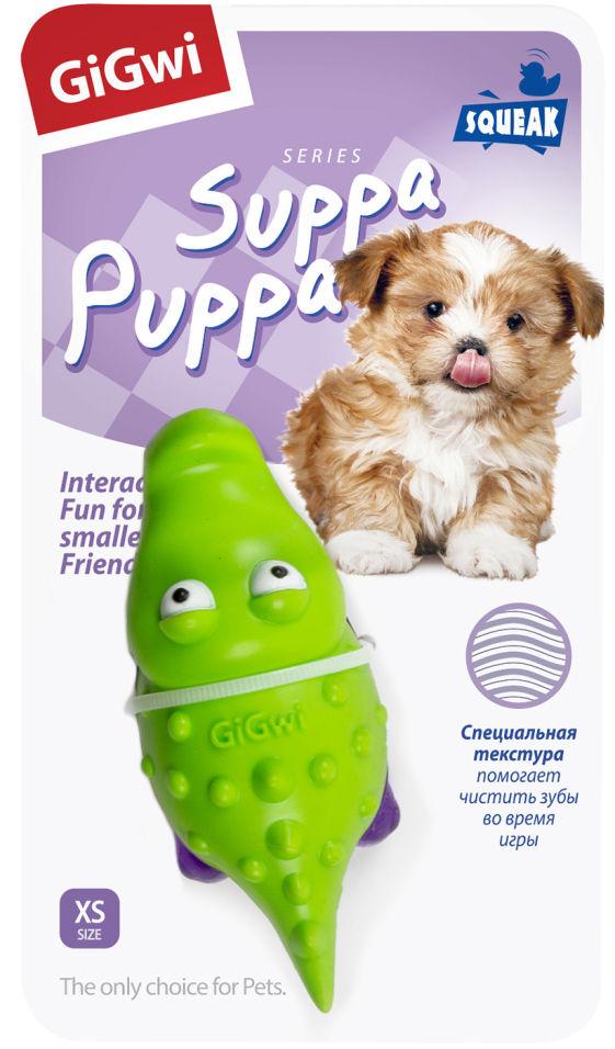 Игрушка для собак GiGwi Крокодильчик с пищалкой