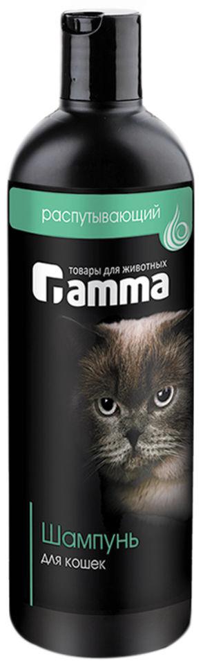 Шампунь для кошек Gamma для длинношерстных и пушистых 250мл