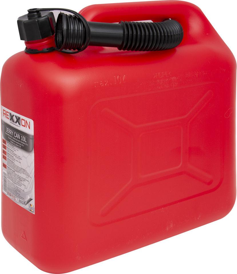 Канистра Rexxon для бензина 10л