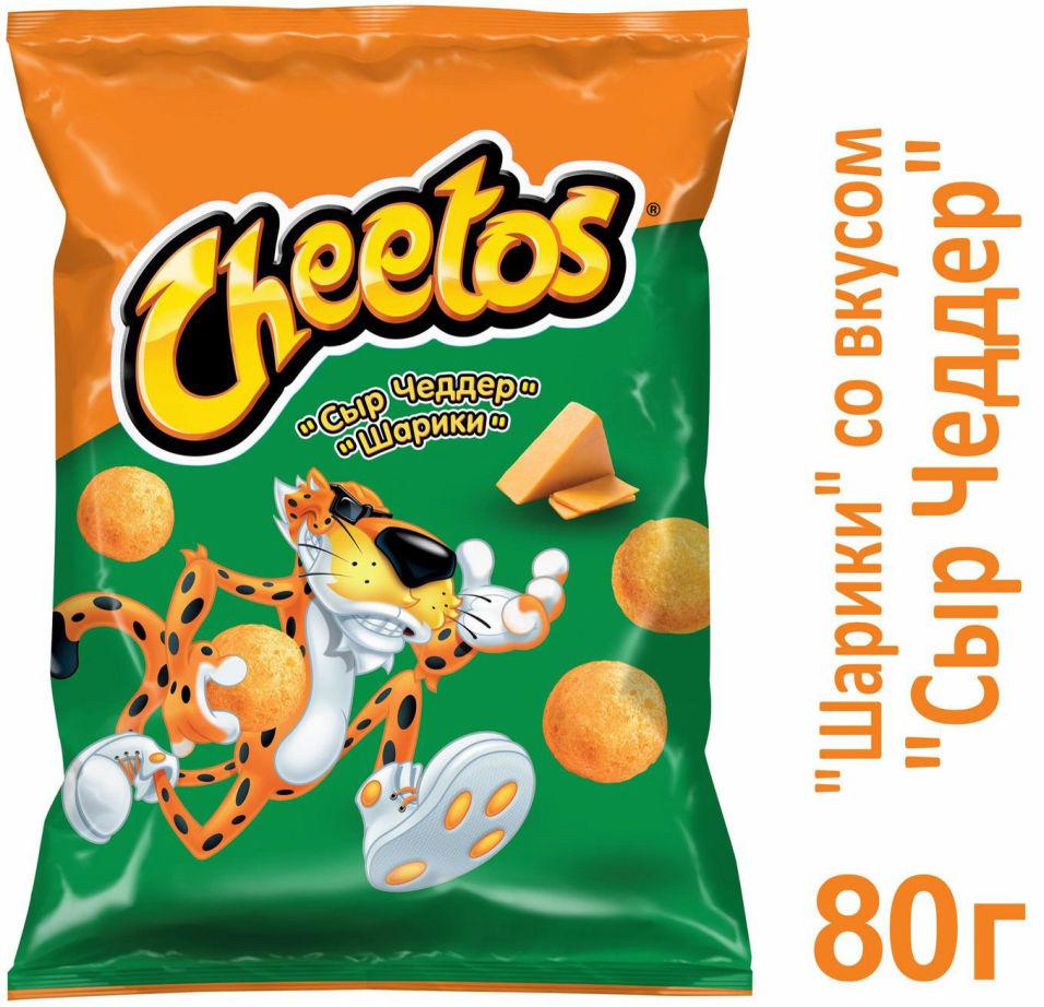 Снеки кукурузные Cheetos Сыр чеддер 80г