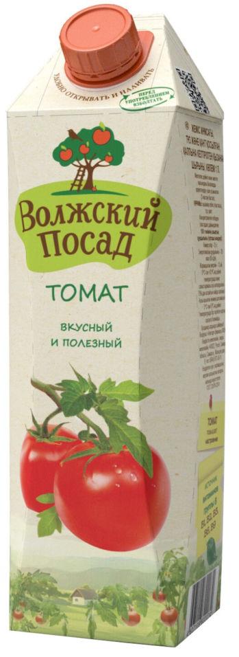 Сок Волжский посад томатный 1л