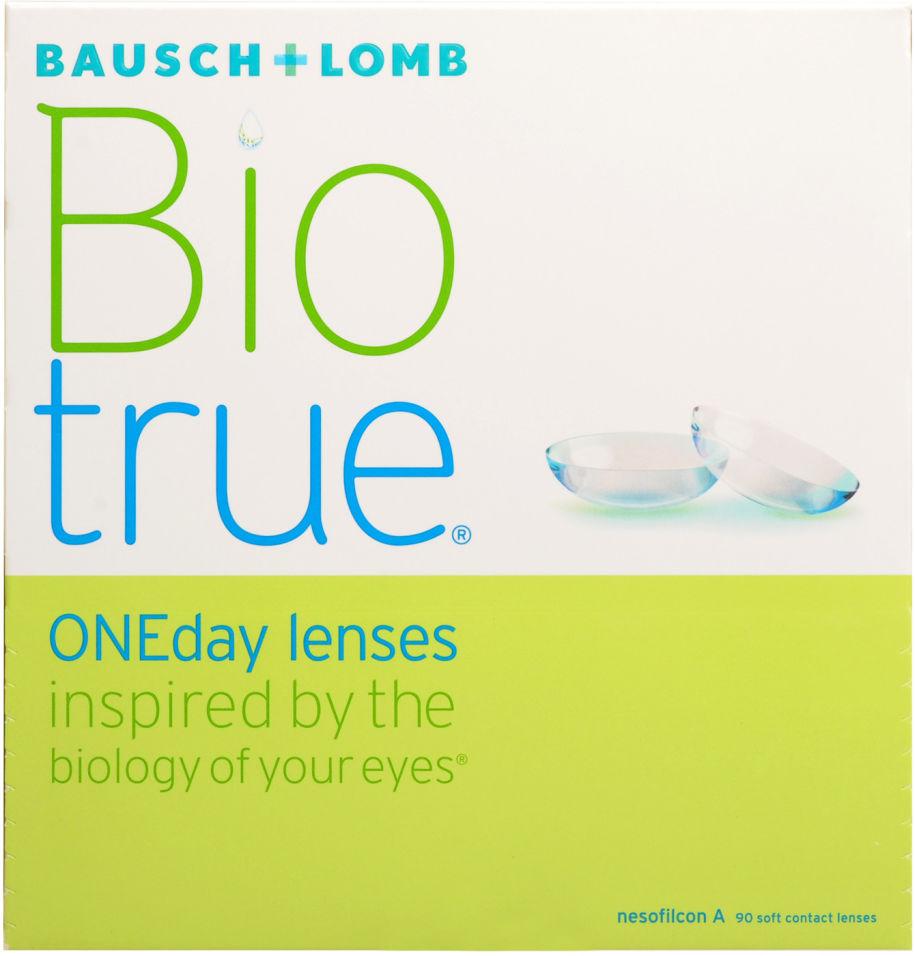 Контактные линзы Biotrue ONEday Однодневные -3.50/14.2/8.6 90шт