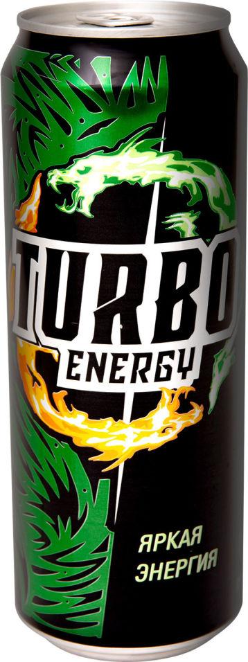 Напиток энергетический Turbo Energy Яркая энергия 450мл