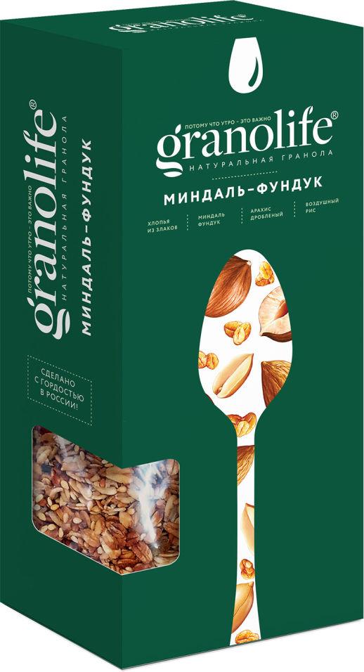 Гранола Granolife Миндаль-фундук 400г
