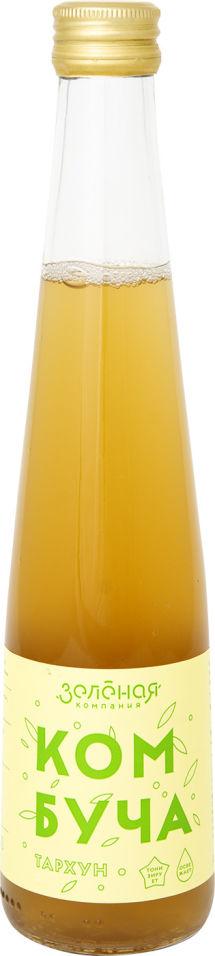 Напиток Зеленая компания Комбуча Тархун 330мл