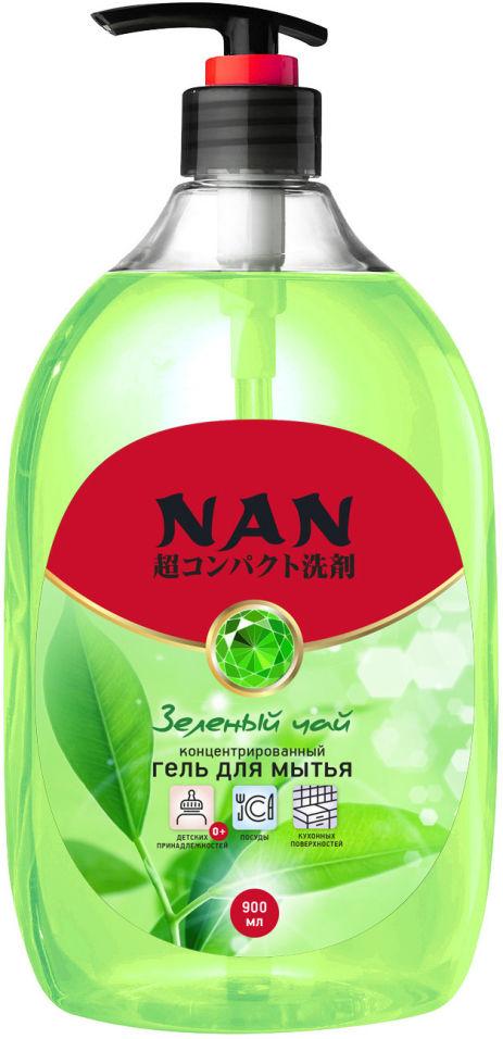 Средство для мытья посуды Nan Зеленый чай 900мл