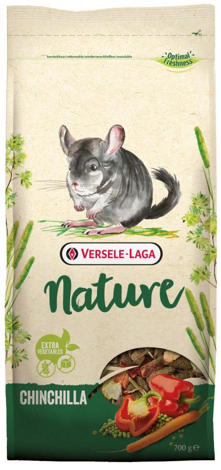 Корм для грызунов Versele-Laga Chinchilla Nature New Premium для шиншилл 700г