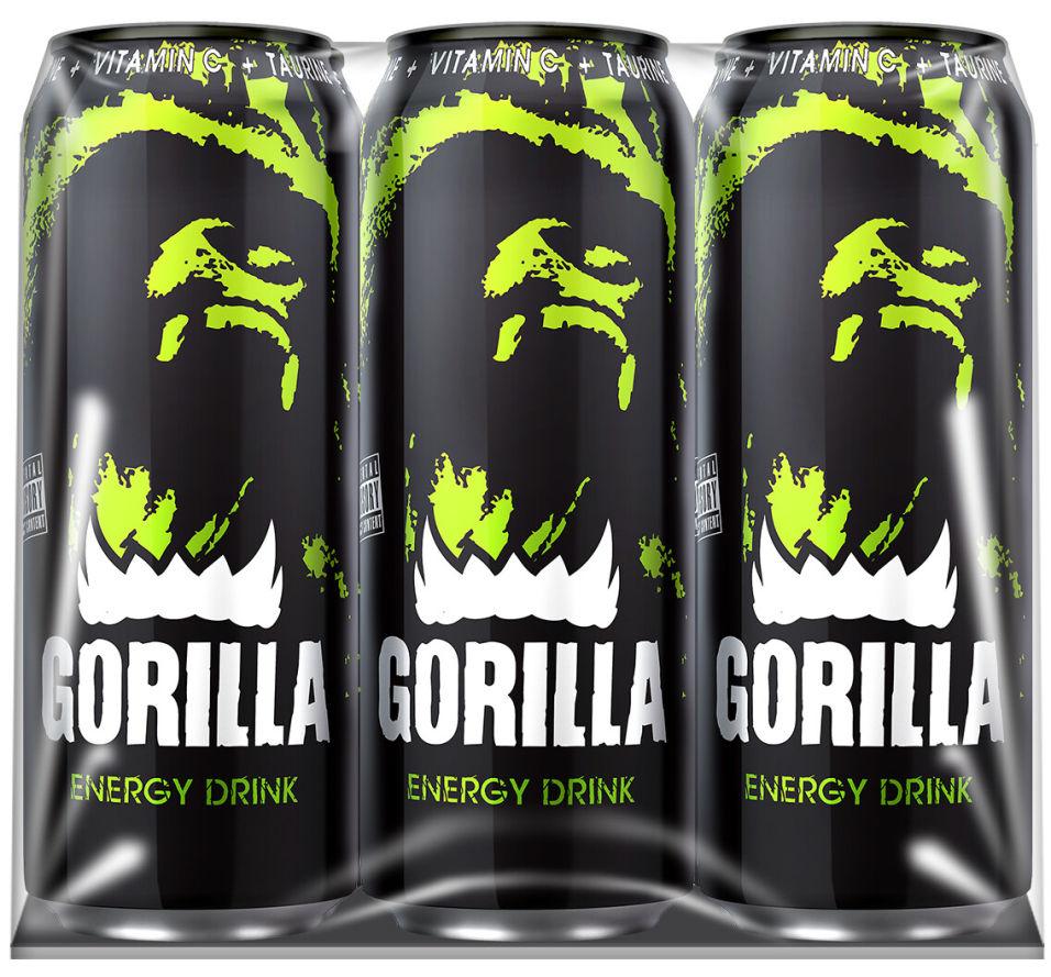 Напиток Gorilla энергетический 6шт*450мл