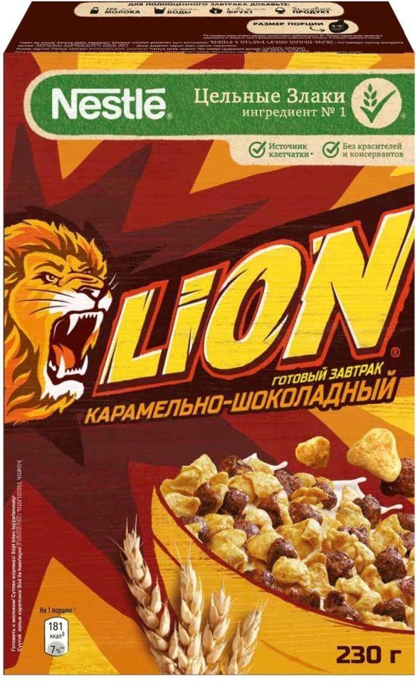 Готовый завтрак Lion Карамельно-шоколадный 230г