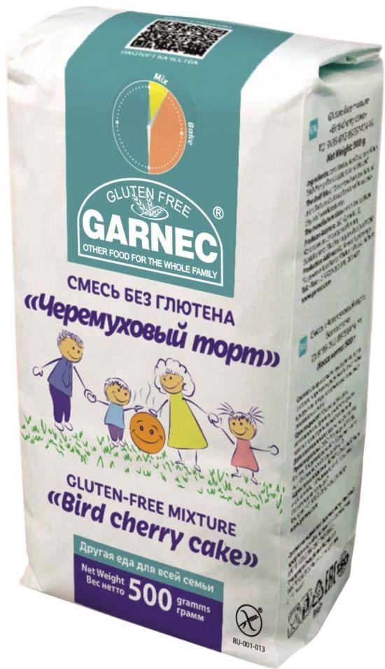 Смесь для выпечки Garnec Черемуховый торт без глютена 500г