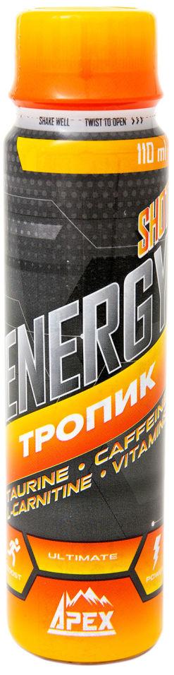 Напиток тонизирующий IronMan Energy Shot Тропик 110мл