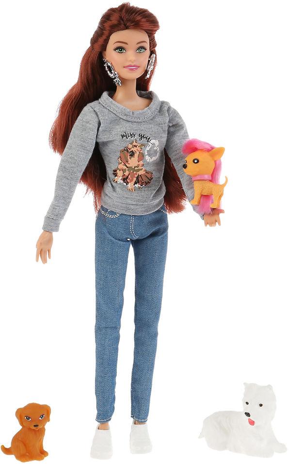 Кукла Shantou City София с питомцами