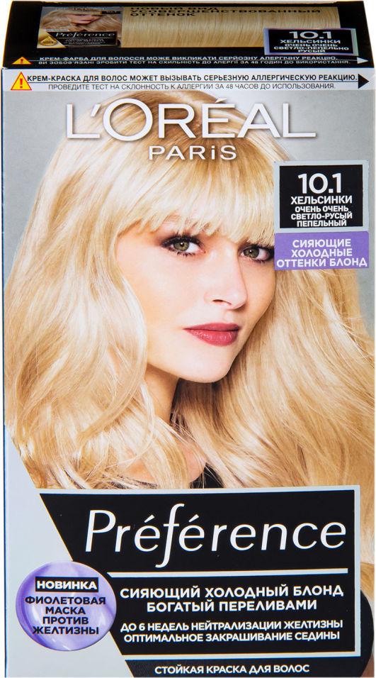 Краска для волос Loreal Paris recital Preference 10.1 Хельсинки