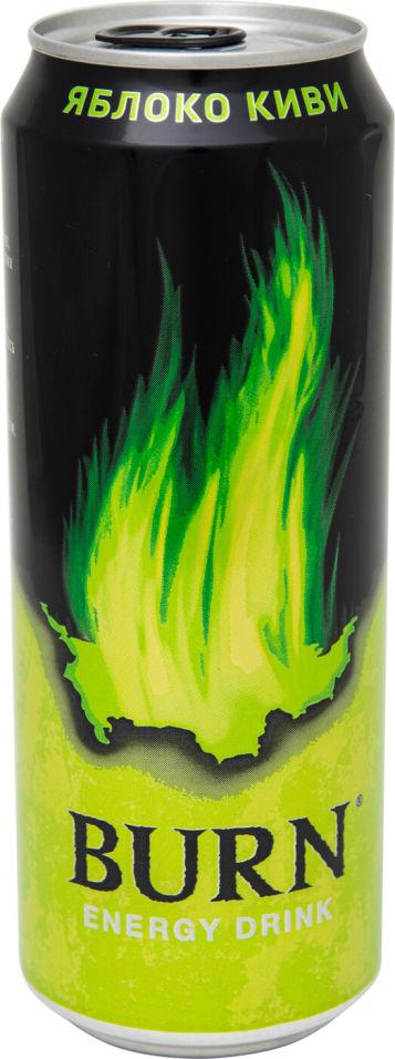 Напиток Burn энергетический Яблоко и киви 449мл