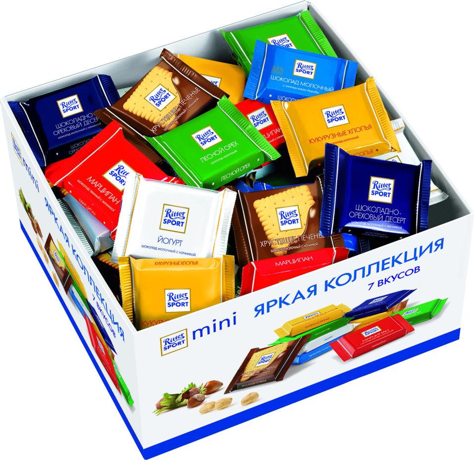 Шоколад Ritter Sport Mini Яркая коллекция 1.4кг