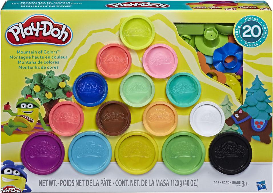 Набор игровой Play-Doh Масса для лепки Горы цвета