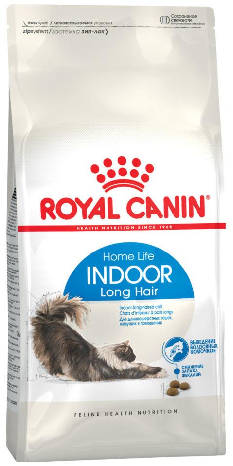 Сухой корм для кошек Royal Canin Indoor Long Hair Птица 400г