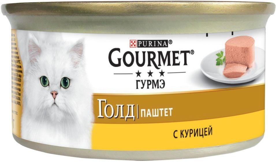 Отзывы о Корм для кошек Gourmet Gold Паштет с курицей 85г