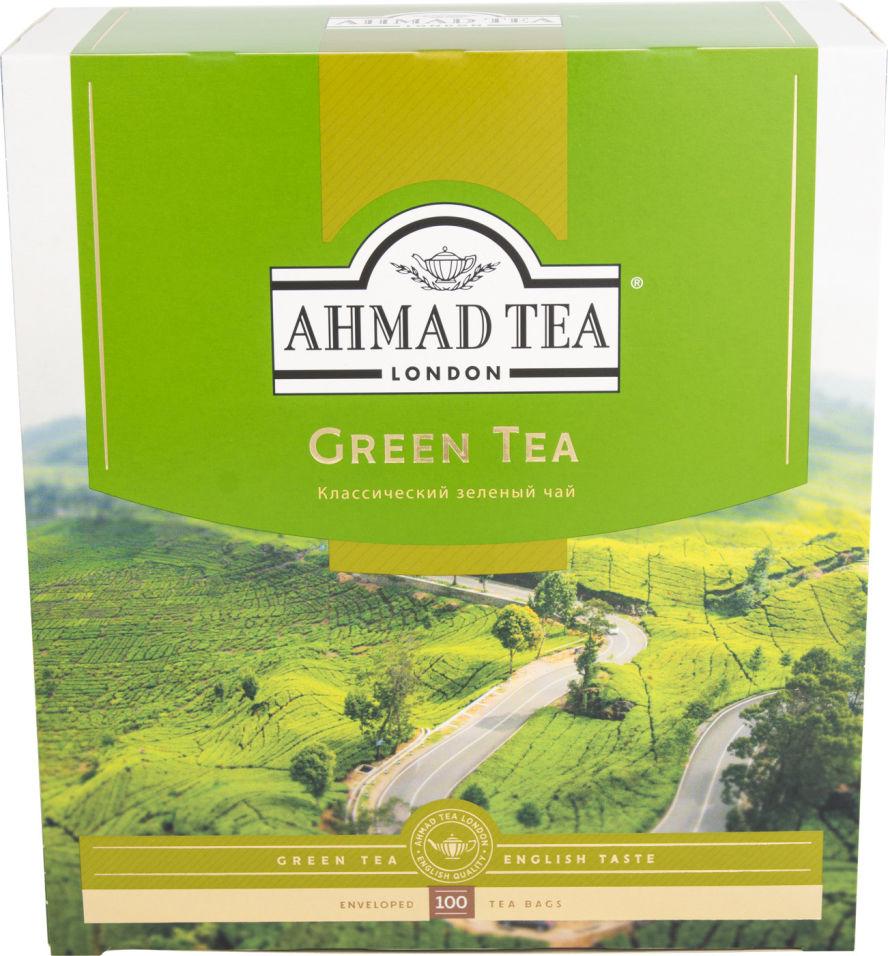 Отзывы о Чае зеленом Ahmad Tea 100 пак