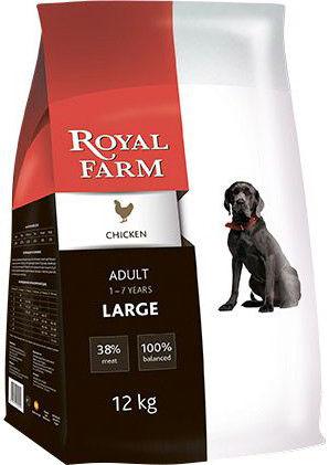 Сухой корм для собак Royal Farm Курица для крупных пород 12кг