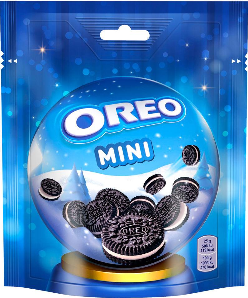 Отзывы о Печенье Oreo Mini с какао и ванильным вкусом 100г