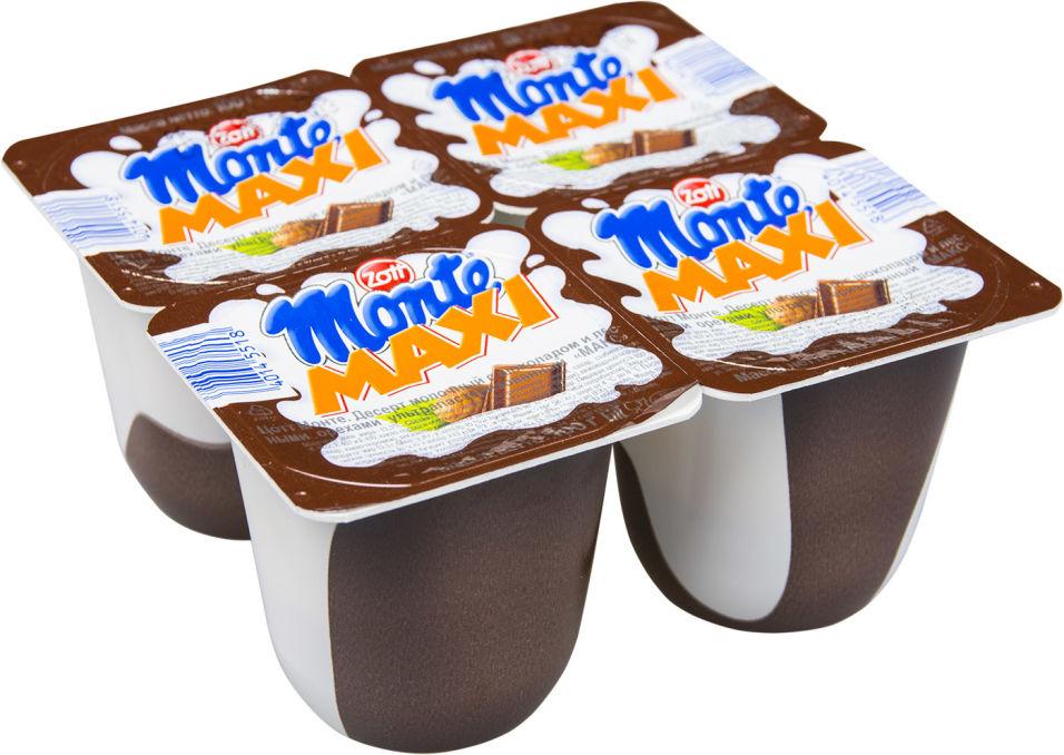 Отзывы о Десерте молочном Zott Monte Max Шоколад-орех 13.3% 100г