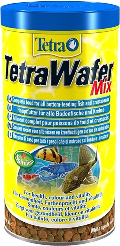Корм для рыб Tetra Wafer Mix для донных рыб 1л