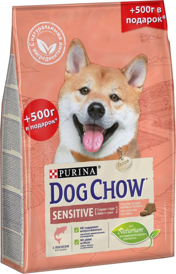 Сухой корм для собак Dog Chow Sensitive Лосось 2.5кг