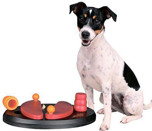 Игрушка для собак Trixie Push Away развивающая 25*17см