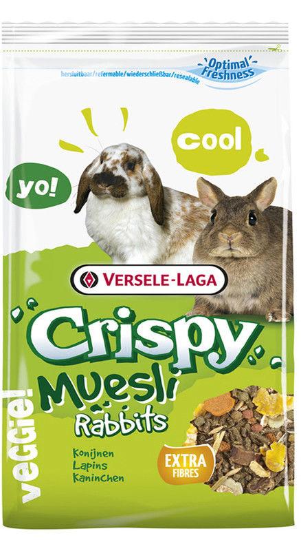 Отзывы о Корме для кроликов Versele-Laga Crispi Cuni 1кг