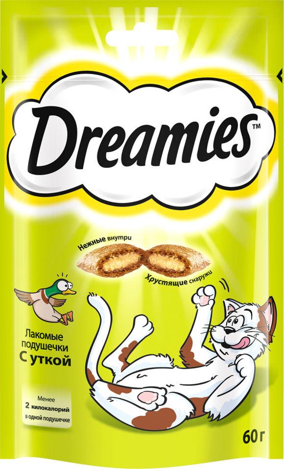 Лакомство для кошек Dreamies с уткой 60г