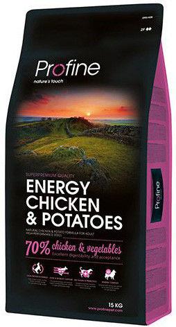 Сухой корм для собак Profine Energy Курица 15кг