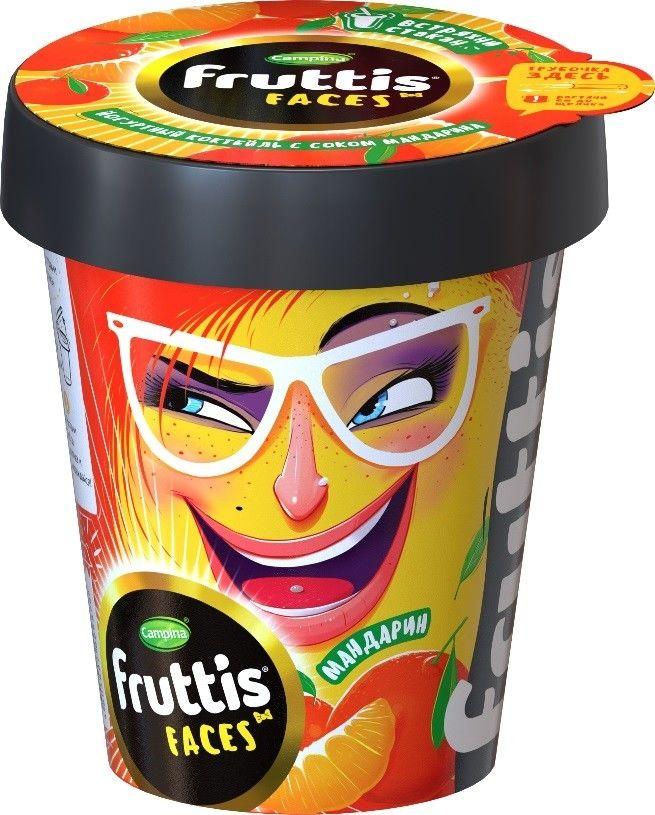 Отзывы о Коктейле йогуртном Fruttis Мандарин 2.5% 265г