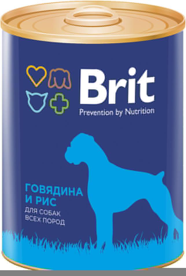 Отзывы о Корме для собак Brit Говядина Рис 850г