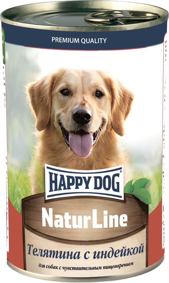 Корм для собак Happy Dog Телятина с индейкой 400г