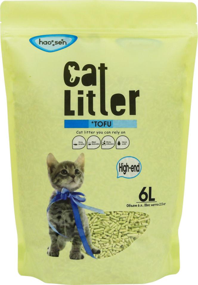 Наполнитель для кошачьего туалета Cat Litter Tofu High-end 2.5кг