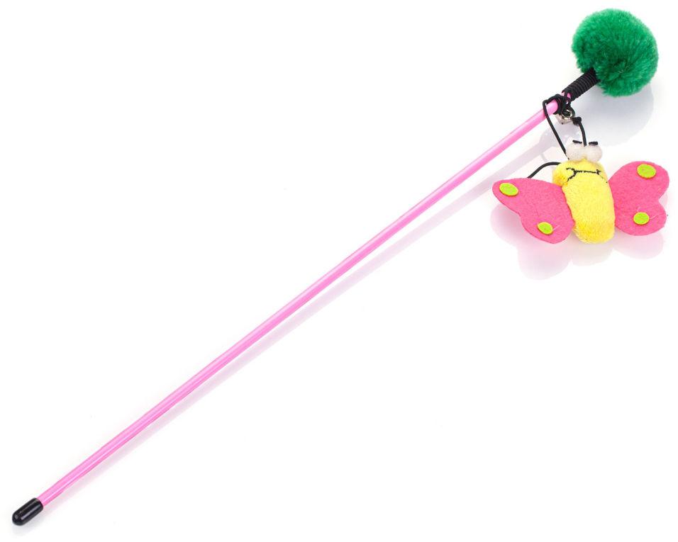 Игрушка для кошек Lilli Pet Удочка Flying Animal 45см