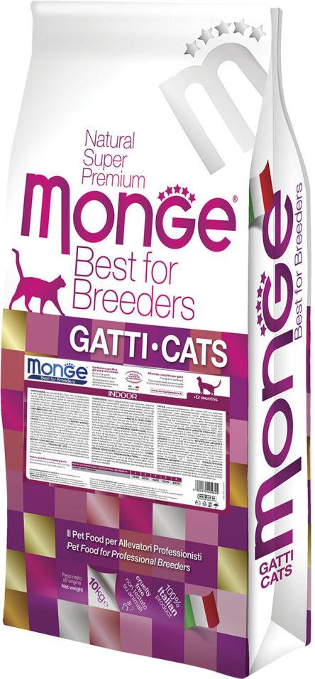 Отзывы о Корме для кошек Monge PFB Cat Daily Line Indoor Курица 10кг