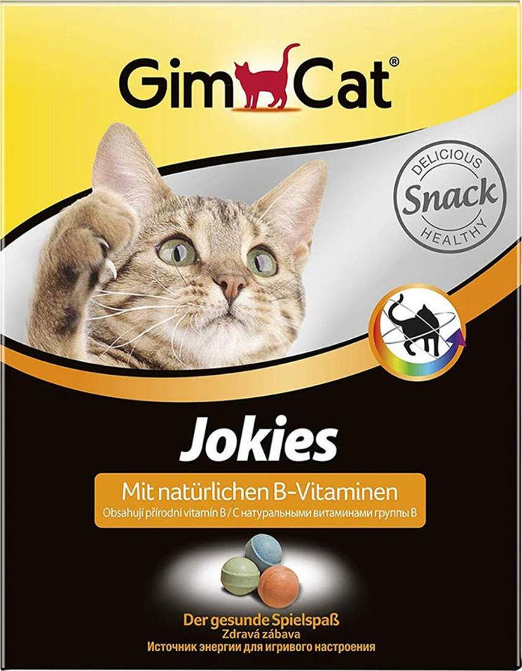Лакомство для кошек GimCat Jokies 520г