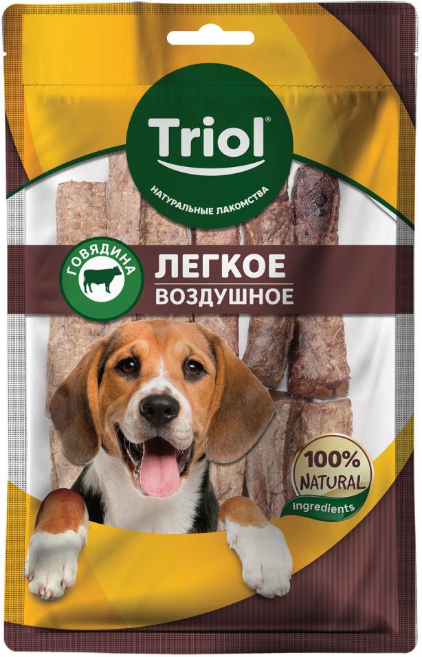 Лакомство для собак Triol Легкое говяжье воздушное 40г