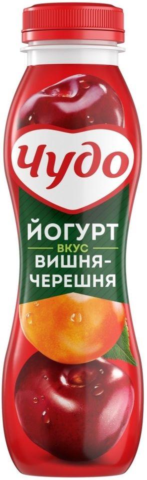 Отзывы о Йогурте питьевом Чудо Вишня-Черешня 2.4% 270мл