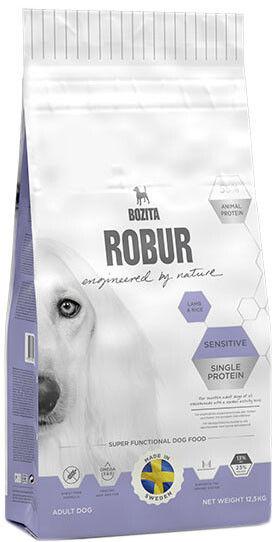 Сухой корм для собак Bozita Robur Sensitive Single Protein с ягненком и рисом 12.5кг