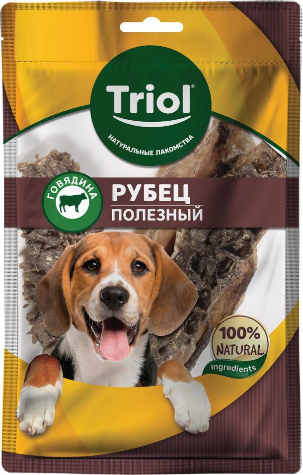 Лакомство для собак Triol Рубец говяжий полезный 30г